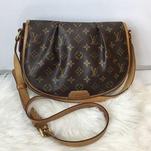SOLD—100% Authentic Louis Vuitton Menilmontant PM